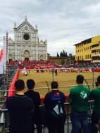 Calcio Storico en Piazza de Santa Maria: Florence, Italy