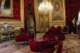 A lavish re-assemblage of Napoleon III's apartment featured in the Louvre.
