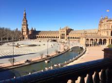 Plaza de Espana, Sevilla, Spain