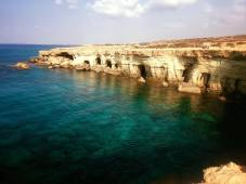 Years of erosion by the sea can be observed at Cavo Greko in Ayia Napa, Cyprus.